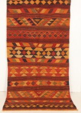 Matta, flatvävd, Harsin-kelim, 280x145 cm