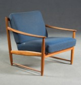 Dansk møbelarkitekt, lounge stol fra 1950'erne/60'erne
