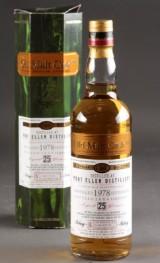 Port Ellen 25 års single malt whisky, 1978 independent bottled Douglas Laing & Co., 2004