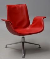 Preben Fabricius og Jørgen Kastholm. 'Tulip Lounge Chair'
