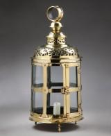 Barok Hall lanterne af messing, 1700-tallet