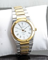 IWC Ingenieur two tone quartz watch, with box