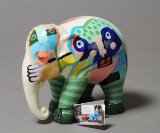 Leif Sylvester, skulptur 'Elephant Parade - A glimpse of humanity' (cd)