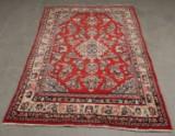 Persisk håndknyttet tæppe. Sarough Old 202x127 cm.