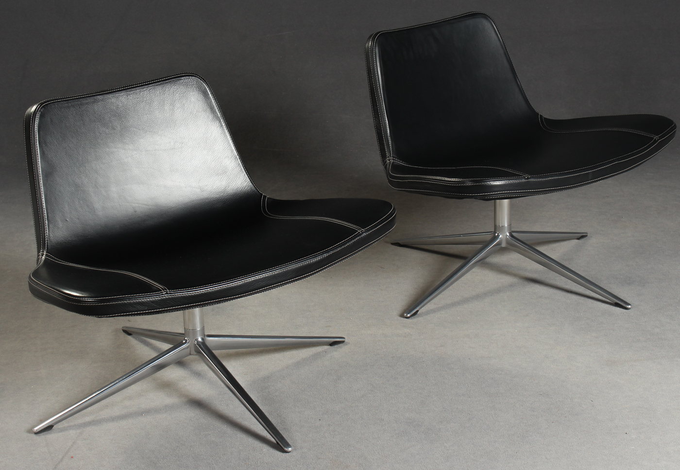 Jacob Wagner, a pair of lounge chairs for Hay, model 'Ray