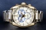Bisset Of Switzerland. Model Gold. Swiss made Herre Chronograph.