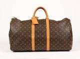 Louis Vuitton, rejsetaske, model Keepall 55
