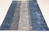 Handtuftad matta i modern design, 230x160