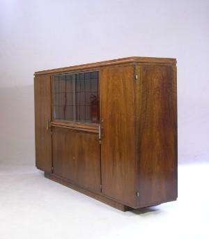m bel bruno paul vitrinenschrank f r speisezimmer 331 und 359 f r dewe. Black Bedroom Furniture Sets. Home Design Ideas