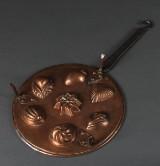 Munkpanna, koppar, 1800-tal