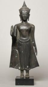 Stående Buddha, Thailand, Ayuthaya-perioden, 1500-tallet - 1700-tallet