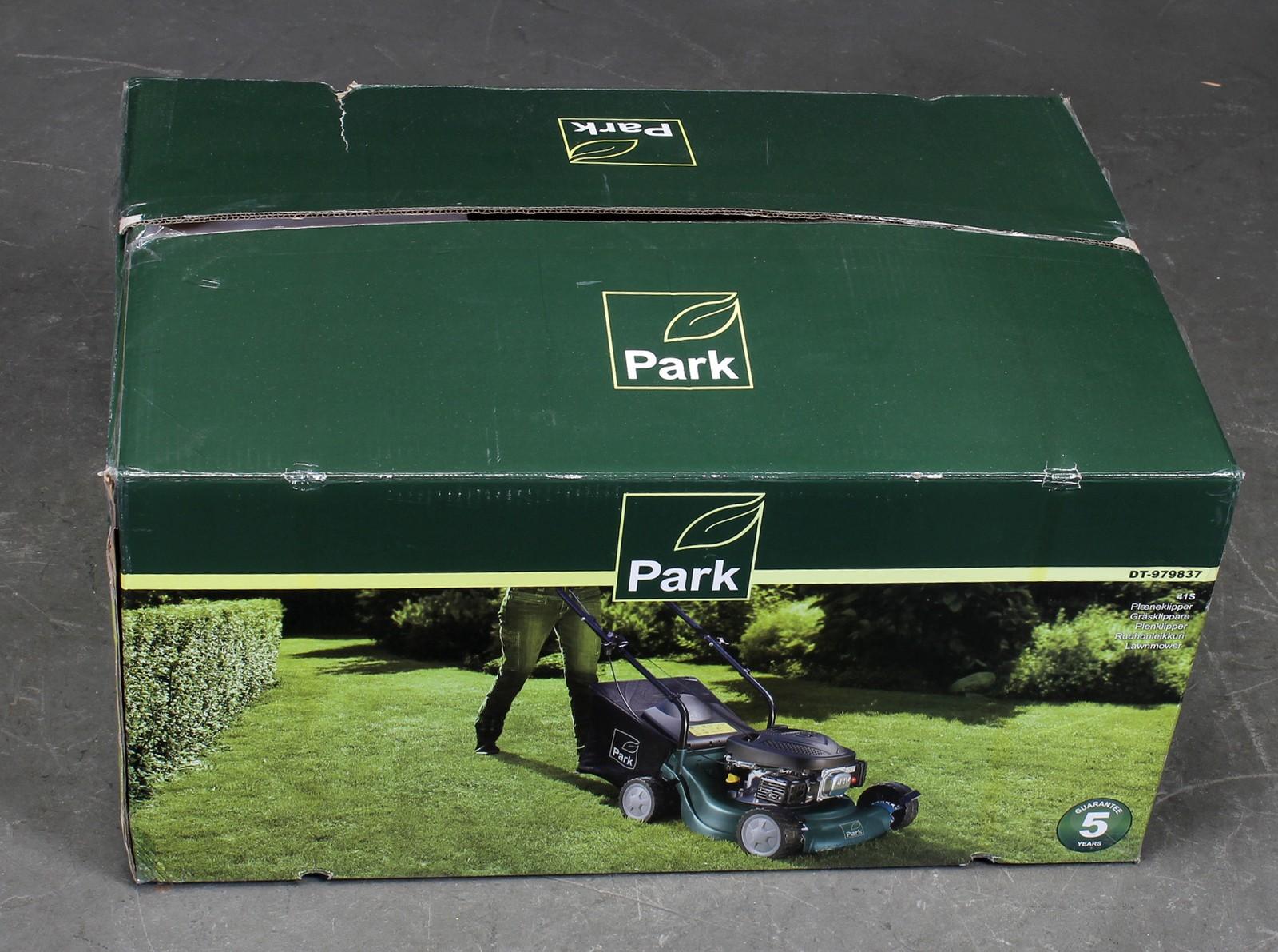park dg 350 plæneklipper manual