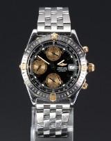 Breitling Chronometre Automatic 18kt gold/steel men's watch