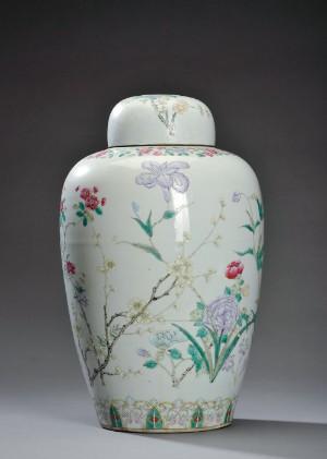Kinesisk lågbojan. Chien Lung 1736-1795