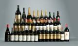 Samling af rødvin, champagne samt hedvin (61).