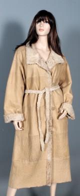 Birger Christensen. Reversible Breitschwanz coat, size 42/46