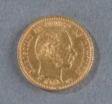 Danmark. 10 kroner guldmønt 1873
