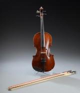Frands Nielsen. Violin, 1908