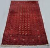 Afghansk tæppe, mål: 215 x 330 cm.