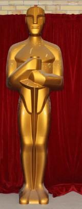 Skulptur, Oscarsstatyetten, höjd 350 cm
