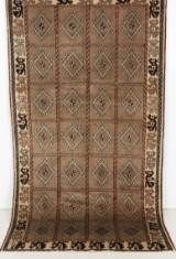 Persisk handknuten matta, växtfärgad Bakhtiari mått 277x150