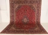 Persisk handknuten matta Mashad, 390x290 cm