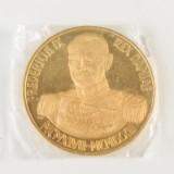 Danmark mindemedalje guld - 50 gr