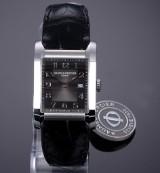 Baume & Mercier 'Hampton'. Men's watch, steel, with two-tone dial - box + certificate 2016