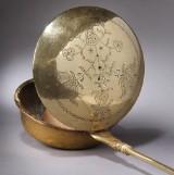 Dansk varmebækken af messing, Kobbermøllen Flensborg, 1766-1808