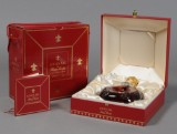 One bt. of Louis XIII de Remy Martin, Baccarat bottle, in box with certificate