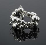 Georg Jensen, Moonlight Grapes armring, sterling sølv
