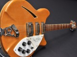 Rickenbacker electric guitar, Limited Edition. 370/12 RM, Roger Mcguinn signed model. No. 140/1000