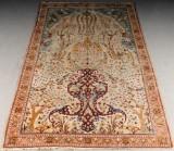 Persin hand-knotted carpet, presumably Isfahan, 318x202 cm