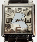 Men's watch, Kuwait Limited Edition No 266, Jacob & Co