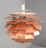 Pendant lamp, Louis Poulsen, PH Artichoke (copper) by Poul Henningsen, Ø 60 cm