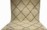 Handknuten Marockansk matta 282 x 210 cm