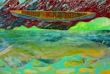Hans Oldau Krull. 'Svævende kano'. 2011