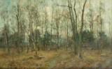 Rudolf Höckner, Birches in Early Spring