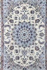 Persisk Nain m/ Silke, 225 x 157 cm