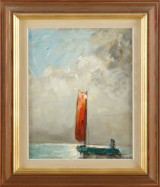 Knut Norman oljemålningar