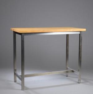 højt bord Højt bord, bøg og stål   Lauritz.com højt bord