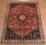 Persisk Shiraz tæppe, 205x158 cm.
