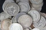 Stor samling svenska 1-kronor, ca 233 st