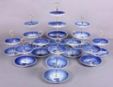 Kgl. / B&G. Samling opsatser af porcelæn (11)