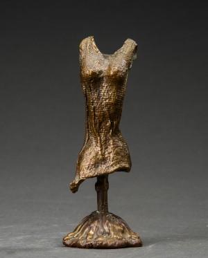 Af I Jens Kjole Galschiøt Patineret Bronze Form Skulptur wBxqPFU