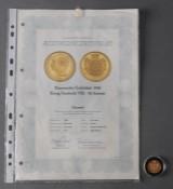 Danmark. 20 kroner guldmønt 1908