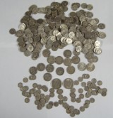USA lagerparti sølvmønter