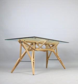 Carlo Mollino Dining Table Model Reale By Zanotta Lauritzcom