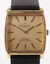 Omega Constellation Automatic. Vintage herreur i 18 kt. guld, 1968