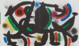Joan Miro färglitografier